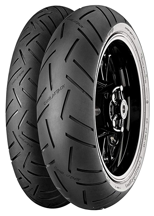 Continental スポーツ Attack 3 Rear Tire (190/50ZR17) (海外取寄せ品)