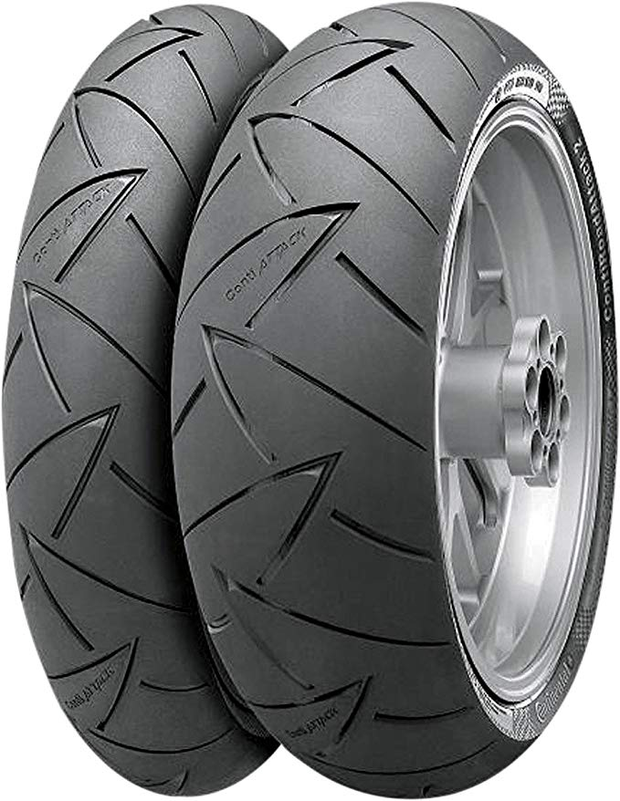 Continental ContiRoad Attack 2 スポーツ/ツーリング Motorcycle Tire Rear 160/60-17 (海外取寄せ品)
