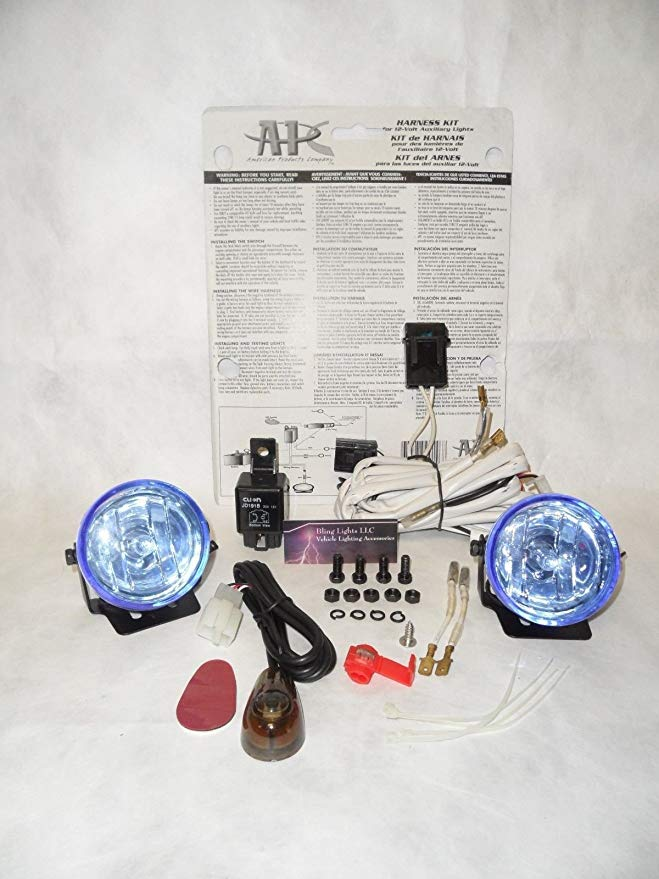 Xenon Halogen Fog 結婚祝い ランプ Driving 大幅値下げランキング ライト キット Compatible スパーク 2012-2017 セット With 海外取寄せ品 Chevy Chevrolet