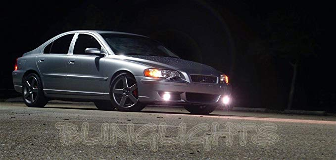 Non-Halo Fog ランプ Driving ライト Compatible With 2004-2007 Volvo S60R S60-R 05 06 (海外取寄せ品)
