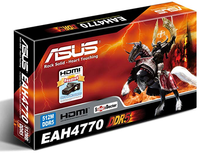 ASUS EAH4770/HTDI/512MD5 Asus EAH4770 HTDI/512MD5/A ?Co a csomagol?is (海外取寄せ品)