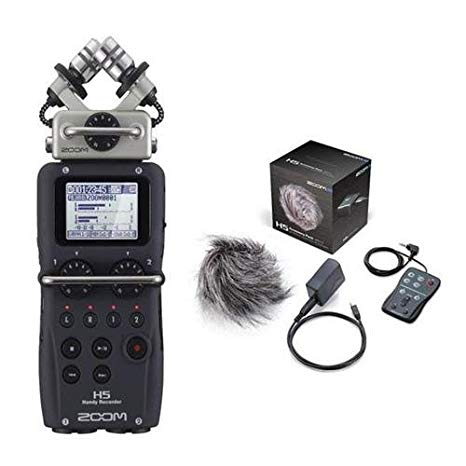 Zoom H5 Handy Portable Recorder with APH5 Accessories キット 「汎用品」(海外取寄せ品)