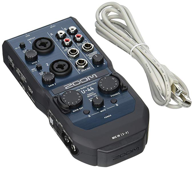 Zoom U-44 Channel Audio Interface 「汎用品」(海外取寄せ品)