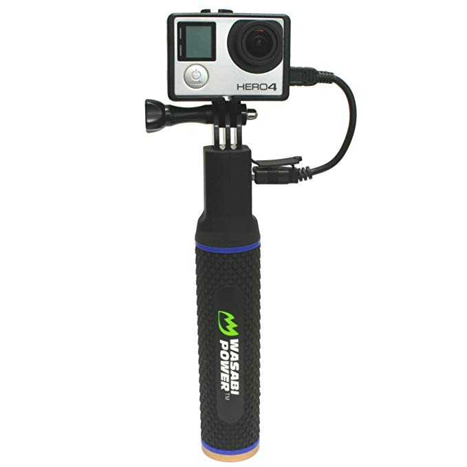 Wasabi Power Clutch (Power Bank ハンド Grip) for Compact デジタル Cameras, ゴープロ GoPro Cameras, アクション Cameras, and Smartphones 「汎用品」(海外取寄せ品)