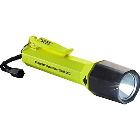 ペリカン Pelican 2010C SabreLite LED Flashlight (Yellow) 「汎用品」(海外取寄せ品)