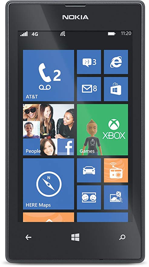 Nokia Lumia 520 (AT&T Go Phone) No Annual Contract (Discontinued by Manufacturer) 「汎用品」(海外取寄せ品)