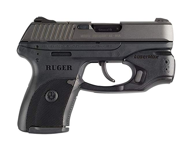 LaseMax CenterFire Laser /Light コンボ (Red) CF-LC9-C-R With GripSense For Use With Ruger LC9/LC380/LC9s/EC9s 「汎用品」(海外取寄せ品)