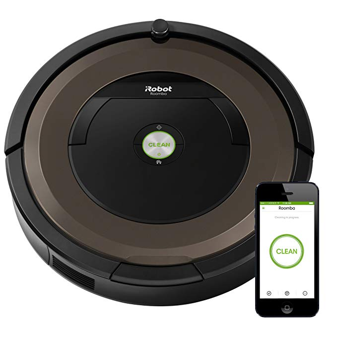 iRobot Roomba 890 Robot Vacuum- Wi-Fi Connected, Works with Alexa, アイデア for Pet ヘアー, Carpets, Hard フロアー 「汎用品」(海外取寄せ品)