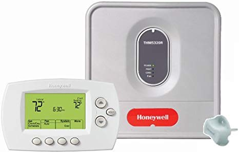 Honeywell YTH6320R1001 Wireless Focuspro Thermostat キット, プログラム Redlink Enabled 「汎用品」(海外取寄せ品)