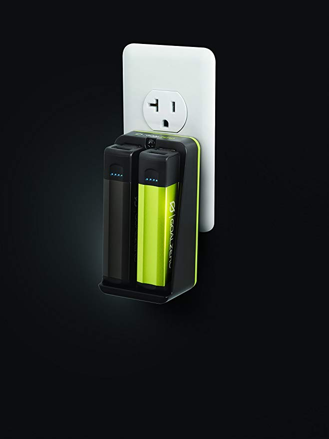 Goal ゼロ フリップ 10 Dock キット, 2X 2600mAh USB Rechargers with AC Docking Station 「汎用品」(海外取寄せ品)
