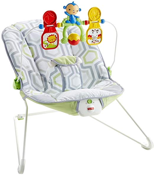 Fisher-Price Deluxe Bouncer: Geo Meadow 「汎用品」(海外取寄せ品)
