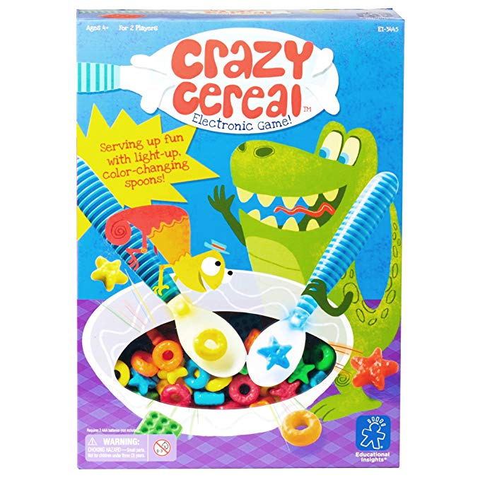 Educational Insights クレイジー Cereal エレクトロニック ゲーム 「汎用品」(海外取寄せ品)
