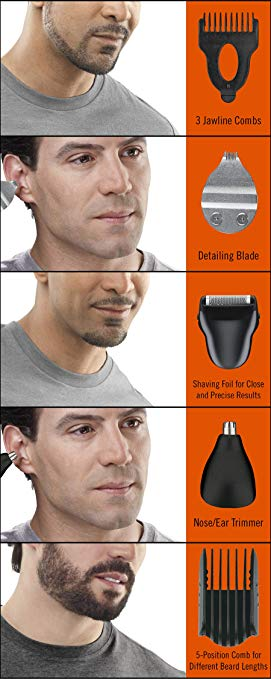 ConairMAN オール-In-1 Trimmer, Cordless/Rechargeable Beard and Mustache Trimmer 「汎用品」(海外取寄せ品)