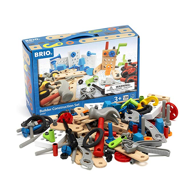 BRIO Builder - 34587 Builder Construction セット | 135-ピース Construction セット for キッズ エイジ 3 and Up 「汎用品」(海外取寄せ品)
