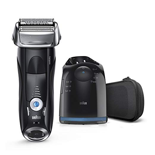 ブラウン Braun Electric Shaver, Series 7 7865cc メンズ Electric Razor / Electric Foil Shaver, Wet & Dry, トラベル ケース with クリーン & Charge System, プレミアム グレー Cordless Razor with ポップ Up Trimmer 「汎用品」(海外取寄せ品)
