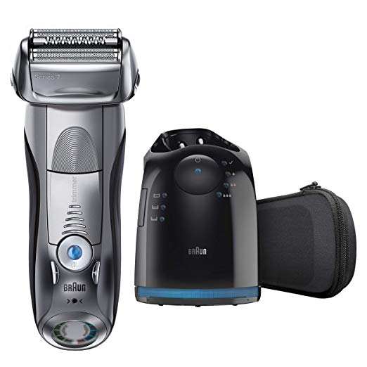 ブラウン Braun Series 7 790cc-4 Electric Foil Shaver with Clean&Charge Station, 1 カウント 「汎用品」(海外取寄せ品)