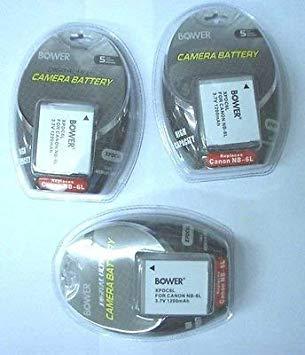 3X NB-6L NB-6LH Batteries for Canon SD770 PC1355 S90, Canon S95 SX240, Canon SX260, Canon SX500, Canon SX510 「汎用品」(海外取寄せ品)