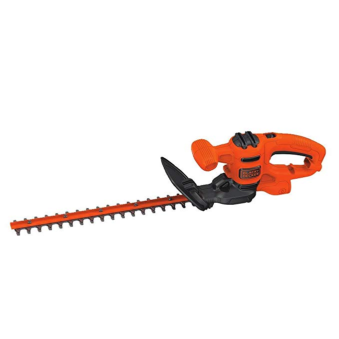 BLACK+DECKER Electric Hedge Trimmer, 17-インチ (BEHT150) 「汎用品」(海外取寄せ品)
