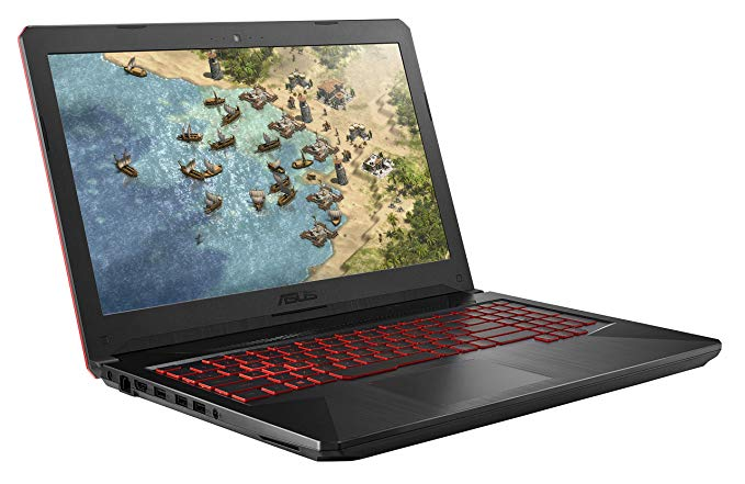 "エイスース ASUS TUF Gaming Laptop FX504 15.6"" 120Hz 3ms Full HD, Intel Core i7-8750H Processor, GeForce GTX 1060 6GB, 16GB DDR4, 256GB PCIe SSD + 1TB HDD, Gigabit WiFi, ウィンドウ 10 ホーム - FX504GM-ES74 「汎用品」(海外取寄せ品)"