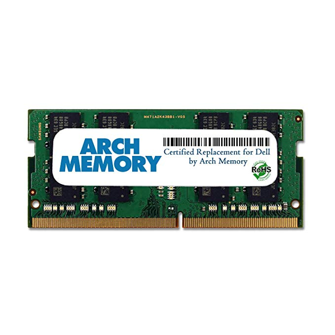 Arch メモリ memory Certified for デル 8GB SNPTD3KXC/8G A8547953 260-ピン DDR4 So-dimm RAM for プレシジョン 5510 (海外取寄せ品)
