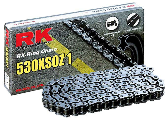 RK レーシング チェーン 530XSOZ1-152 スチール 152-リンク X-リング チェーン with Connecting リンク (海外取寄せ品)