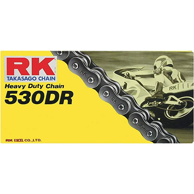 RK レーシング チェーン 530DR-160 '160-Links' Heavy Duty Drag レース Motorcycle チェーン (海外取寄せ品)