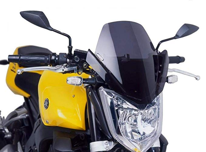 Puig 4119W Clear Windshield (Naked New Generation ヤマハ Fz1 06-16) (海外取寄せ品)