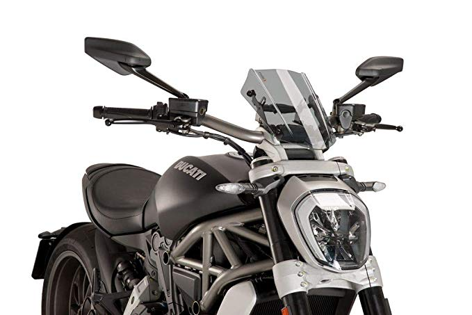 Puig 8921H Naked New Generation Windscreen (海外取寄せ品)