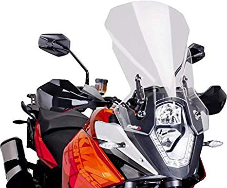 17-18 KTM 1290SDRABS: Puig Naked Generation スポーツ Windscreen (Clear) (海外取寄せ品)