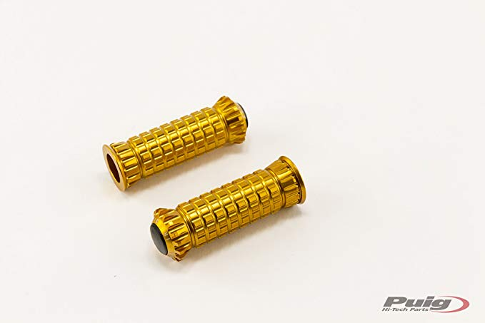 Puig R-Fighter Footpegs (GOLD) (海外取寄せ品)