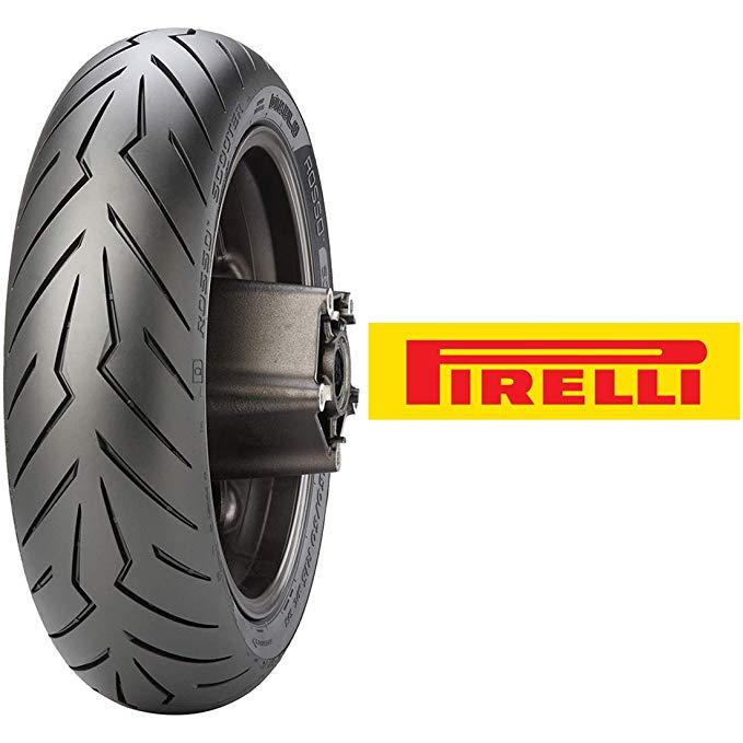 Pirelli ディアブロ Rosso Rear Scooter Tire (160/60R-15) (海外取寄せ品)