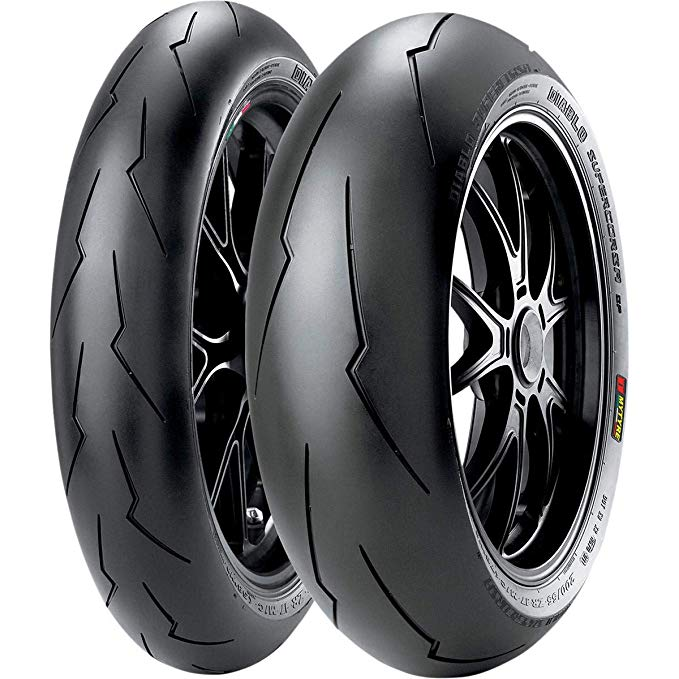 Pirelli ディアブロ SuperCorsa SP V2 Tire - Rear - 180/55ZR-17 , Position: Rear, Rim サイズ: 17, Tire Application: レース, Tire サイズ: 180/55-17, Tire Type: ストリート, Load Rating: 73, スピード Rating: (W), Tire Construction: Radial 2244 (海外取寄せ品)