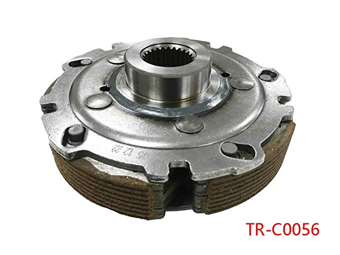 Wet Clutch シューズ Carrier Assembly for ヤマハ サイ 660 YXR660 2004-2007 (海外取寄せ品)