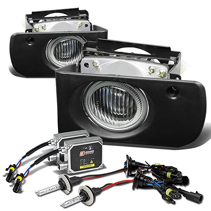 For Acura Integra Bumper Fog Light+Switch+6,000K HID+Thick バラスト Ballast (Clear Lens) - DB DC (海外取寄せ品)