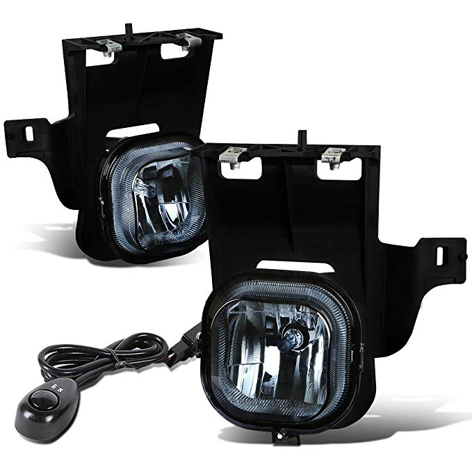For Ford レンジャー (Non STX) ペア of Bumper Driving Fog ライト + Switch (Smoke Lens) (海外取寄せ品)