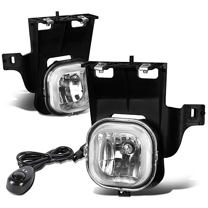For Ford レンジャー (Non STX) ペア of Bumper Driving Fog ライト + Switch (Clear Lens) (海外取寄せ品)