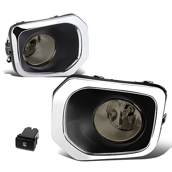 For Tacoma Truck ペア of Bumper ラウンド Driving Fog Lights+Switch (Smoked Lens) (海外取寄せ品)