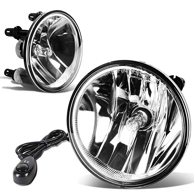 For Ford Mustang/Escape/エクスプローラー ペア of Bumper Driving Fog ライト + Wiring キット + Switch (Clear Lens) (海外取寄せ品)