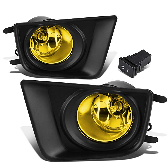 For Tacoma ペア of Driving Bumper Fog ライト + Wiring + Switch (Amber Lens) (海外取寄せ品)