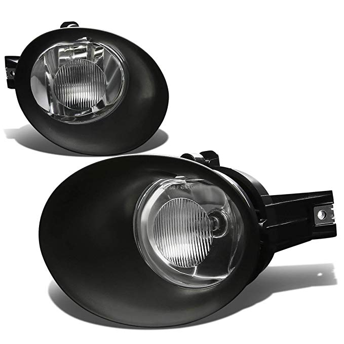 For 02-09 Dodge Ram Fog Light Lamps+Switch & Blubs (Clear Lens) - DR DH (海外取寄せ品)