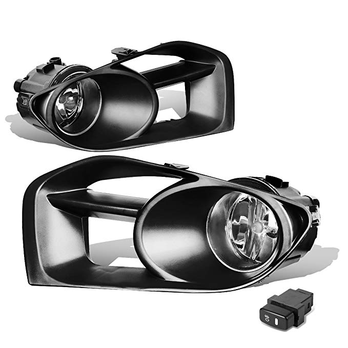 For 11-14 Nissan Murano Z50 ペア of Bumper Driving Fog ライト + Wiring + Switch (Clear Lens) (海外取寄せ品)