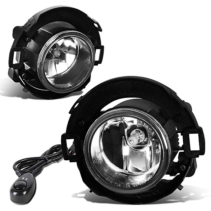 For Nissan 05-15 Xterra / 08-15 Frontier ペア of Bumper Driving Fog ライト + Switch (Clear Lens) (海外取寄せ品)