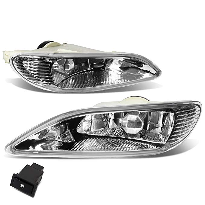For Camry/Corolla ペア of Bumper Driving Fog ライト + Wiring キット + Switch (Clear Lens) (海外取寄せ品)