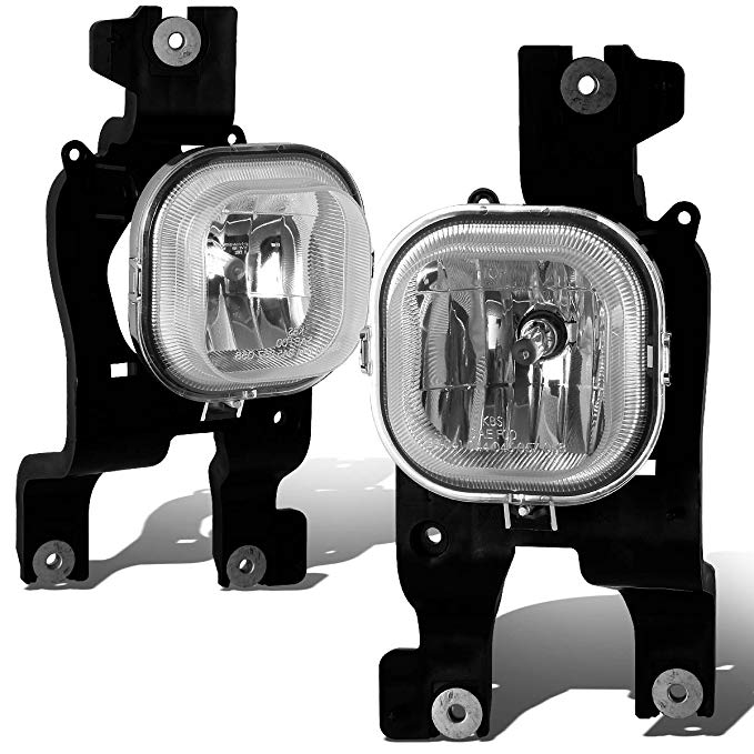 For Ford Super Duty ペア of Bumper Driving Fog ライト (Clear Lens) (海外取寄せ品)