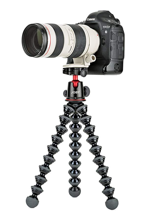 JOBY GorillaPod 5K Kit. Professional Tripod 5K Stand and Ballhead 5K for DSLR Cameras or Mirrorless Camera with レンズ up to 5K (11lbs). ブラック/Charcoal. (海外取寄せ品)