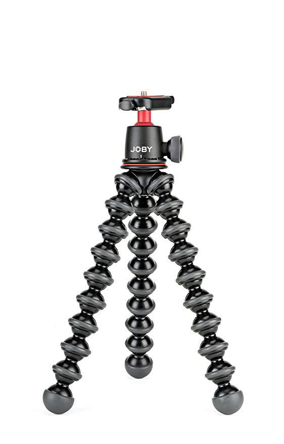 JOBY GorillaPod 3K Kit. Compact Tripod 3K Stand and Ballhead 3K for Compact Mirrorless Cameras or Devices up to 3K (6.6lbs). ブラック/Charcoal. (海外取寄せ品)