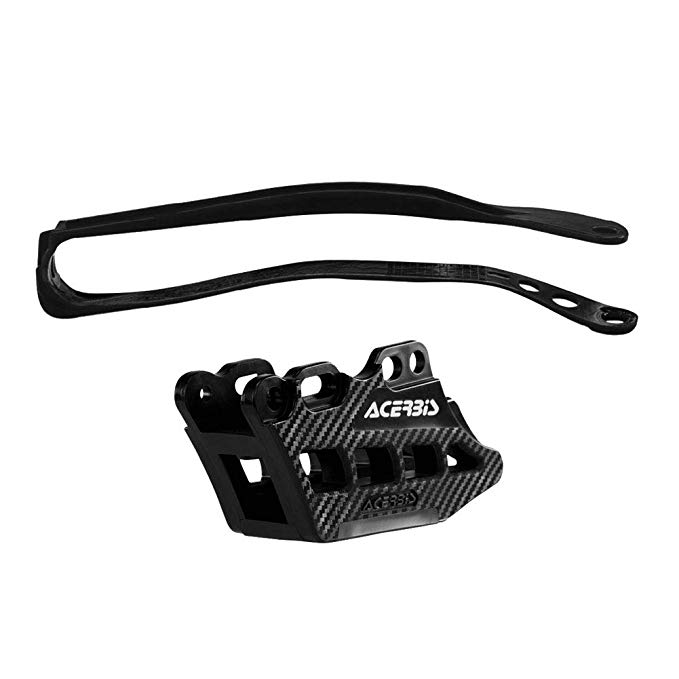 Acerbis チェーン Guide and Slider キット 2.0 ブラック - フィット: ヤマハ YZ450F 2009-2018 (海外取寄せ品)