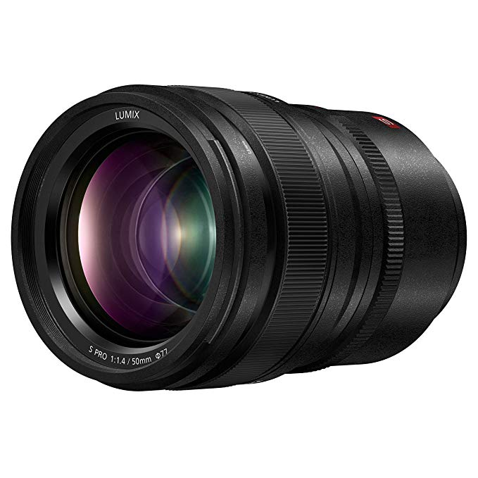 Panasonic LUMIX S プロ 50mm F1.4 レンズ, Full-フレーム L Mount, Leica Certified, ダスト/Splash/Freeze-Resistant for Panasonic LUMIX S Series Mirrorless Cameras - S-X50 (USA) (海外取寄せ品)