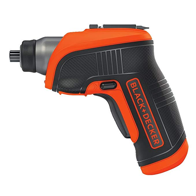 BLACK+DECKER 4V マックス Cordless Screwdriver with LED Light (BDCS30C) (海外取寄せ品)