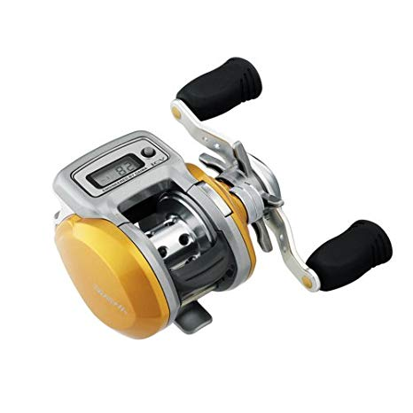 Daiwa Accudepth ロー プロフィール Linecounter 6.3:1, 3+1 Ball Bearing, 10 Pound/150 Yards Reel (海外取寄せ品)